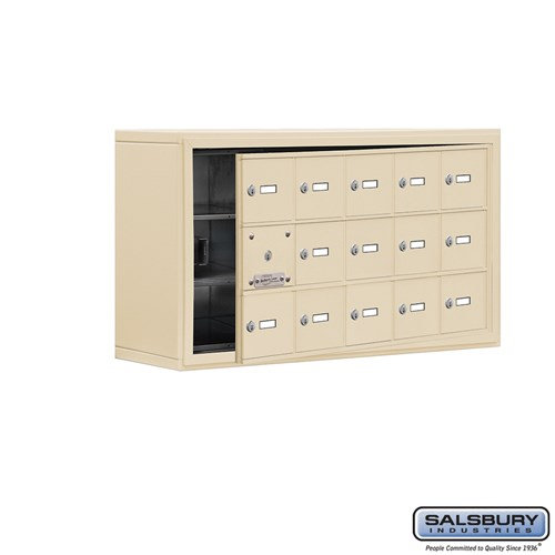 Salsbury Cell Phone Storage Locker - with Front Access - 19138-15ASK