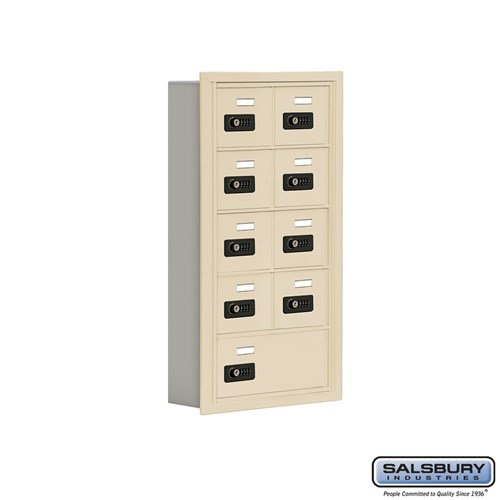 Salsbury Cell Phone Storage Locker - 5 Door High Unit  - 19055-09ARC