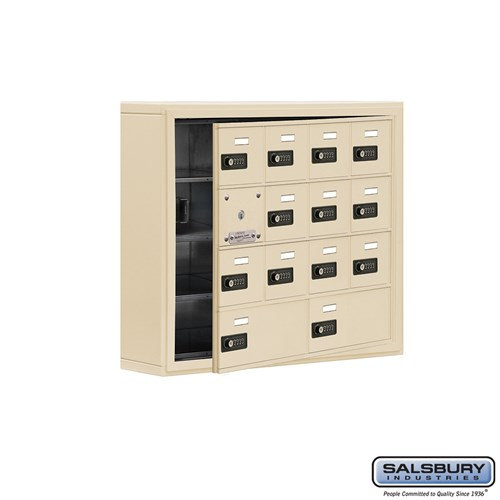 Salsbury Cell Phone Storage Locker - with Front Access - 19145-14ASC