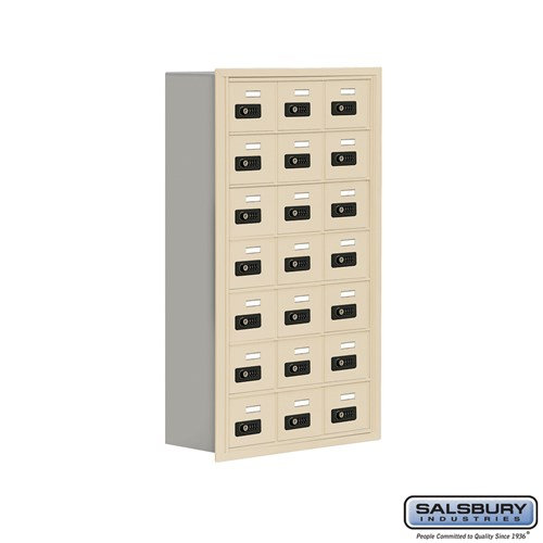 Salsbury Cell Phone Storage Locker - 7 Door High Unit  - 19078-21ARC