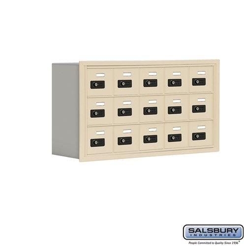 Salsbury Cell Phone Storage Locker - 3 Door High Unit  - 19038-15ARC