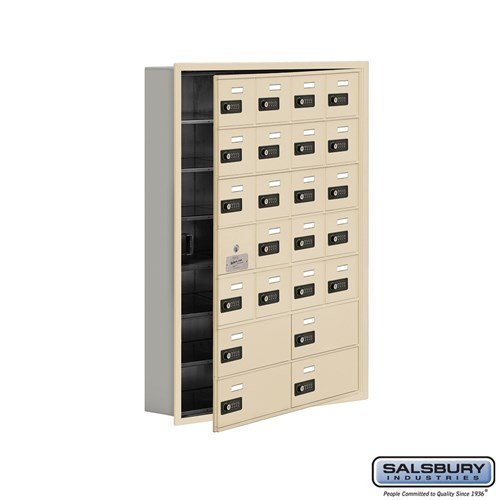 Salsbury Cell Phone Storage Locker - with Front Access - 19175-24ARC