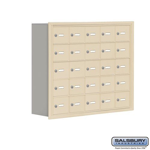 Salsbury Cell Phone Storage Locker - 5 Door High Unit  - 19058-25ARK