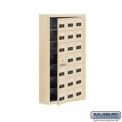 Salsbury Cell Phone Storage Locker - with Front Access - 19175-21ASC