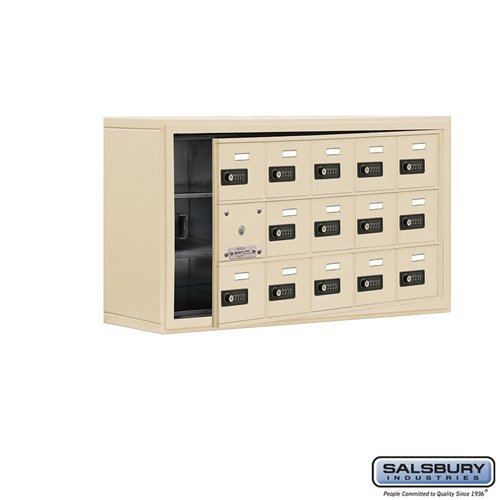 Salsbury Cell Phone Storage Locker - with Front Access - 19138-15ASC