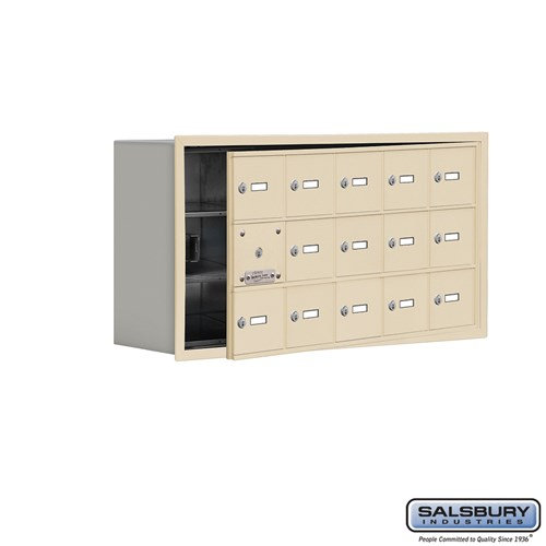 Salsbury Cell Phone Storage Locker - with Front Access - 19138-15ARK