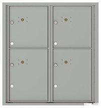 versatile 4C09D-4P-SM 4CFL Front-loading Mailbox