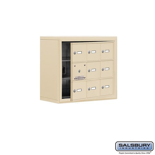 Salsbury Cell Phone Storage Locker - with Front Access - 19138-09ASK