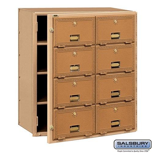 Salsbury Brass Mailbox - 2008FL