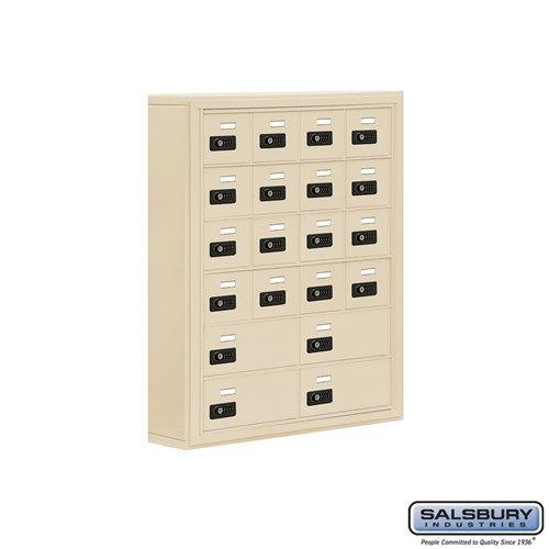 Salsbury Cell Phone Storage Locker - 6 Door High Unit  - 19065-20ASC