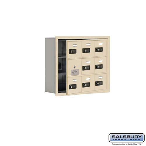 Salsbury Cell Phone Storage Locker - with Front Access - 19135-09ARC