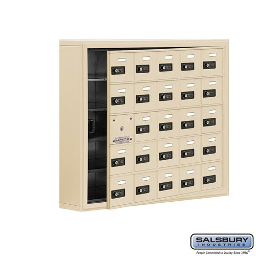 Salsbury Cell Phone Storage Locker - with Front Access - 19155-25ZSC