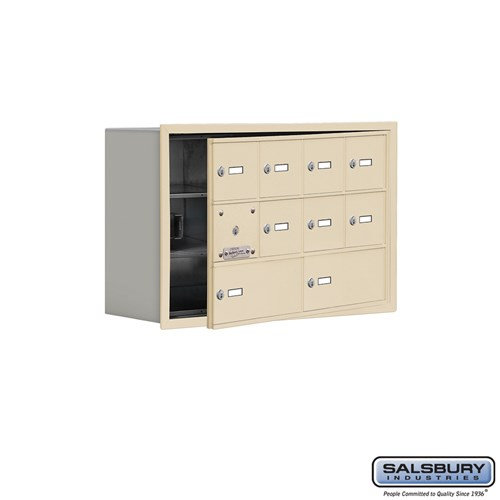 Salsbury Cell Phone Storage Locker - with Front Access - 19138-10ARK