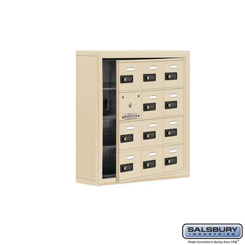 Salsbury Cell Phone Storage Locker - with Front Access - 19145-12ASC
