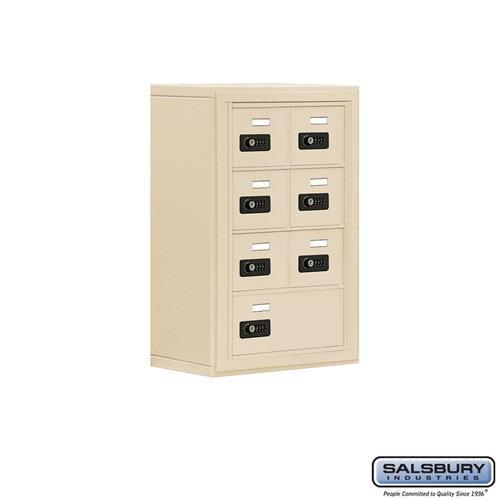 Salsbury Cell Phone Storage Locker - 4 Door High Unit  - 19048-07ASC