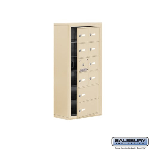 Salsbury Cell Phone Storage Locker - with Front Access - 19168-10ASK