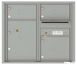 versatile 4C07D-03-SM 4CFL Front-loading Mailbox