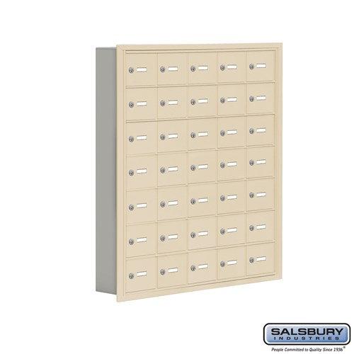 Salsbury Cell Phone Storage Locker - 7 Door High Unit  - 19075-35ARK