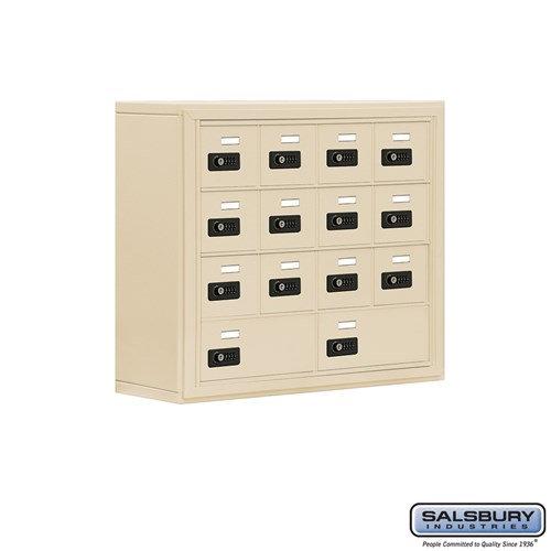Salsbury Cell Phone Storage Locker - 4 Door High Unit  - 19048-14ASC
