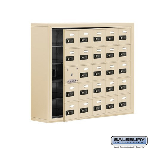 Salsbury Cell Phone Storage Locker - with Front Access - 19158-25ASC