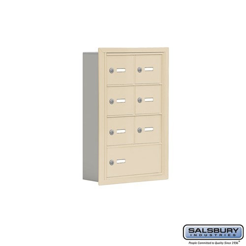 Salsbury Cell Phone Storage Locker - 4 Door High Unit  - 19045-07ARK