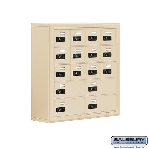 Salsbury Cell Phone Storage Locker - 5 Door High Unit  - 19058-16ASC