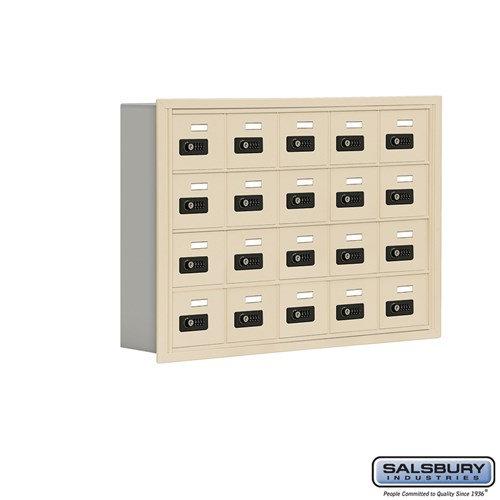 Salsbury Cell Phone Storage Locker - 4 Door High Unit  - 19045-20ARC