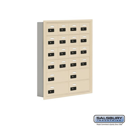 Salsbury Cell Phone Storage Locker - 6 Door High Unit  - 19065-20ARC