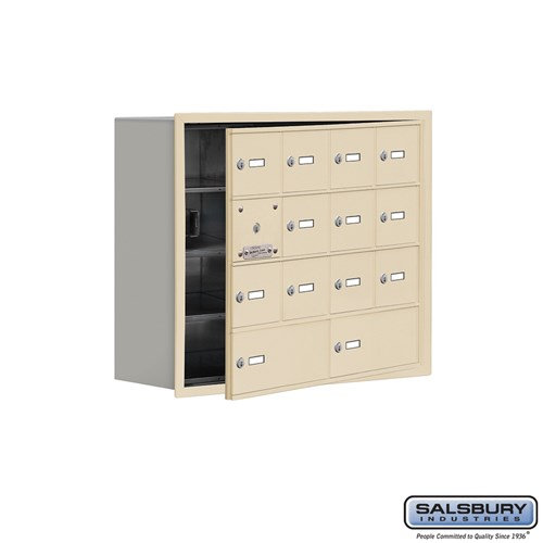 Salsbury Cell Phone Storage Locker - with Front Access - 19148-14ARK