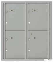 versatile 4C10D-4P-SM 4CFL Front-loading Mailbox