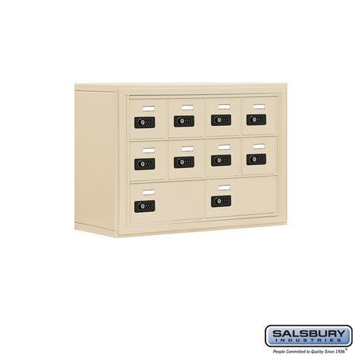 Salsbury Cell Phone Storage Locker - 3 Door High Unit  - 19038-10ZSC