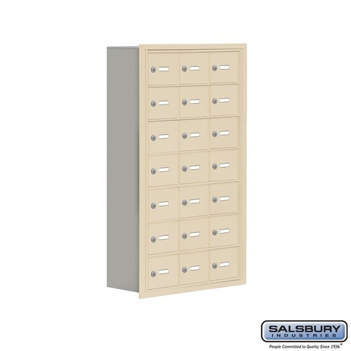 Salsbury Cell Phone Storage Locker - 7 Door High Unit  - 19078-21ARK