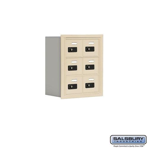Salsbury Cell Phone Storage Locker - 3 Door High Unit  - 19038-06ARC