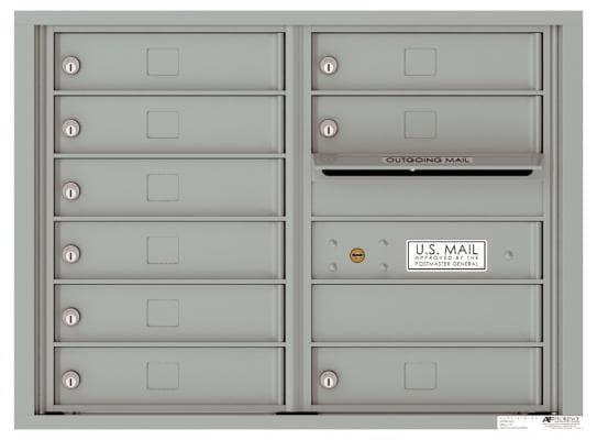 versatile 4C06D-09-SM 4CFL Front-loading Mailbox