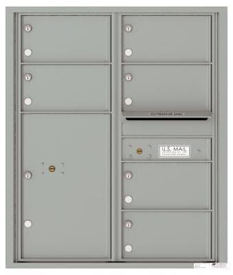versatile 4C10D-06-SM 4CFL Front-loading Mailbox