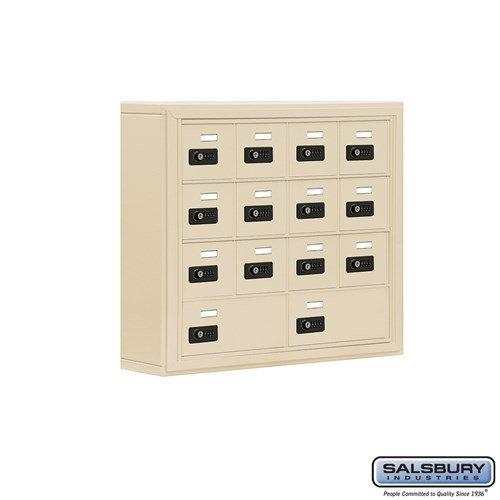 Salsbury Cell Phone Storage Locker - 4 Door High Unit  - 19045-14ASC