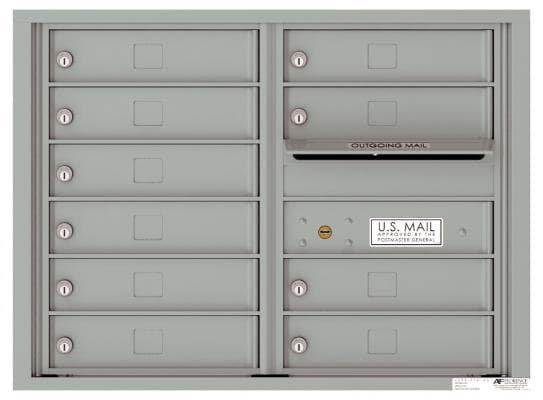versatile 4C06D-10 4CFL Front-loading Mailbox