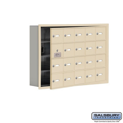 Salsbury Cell Phone Storage Locker - with Front Access - 19145-20ARK