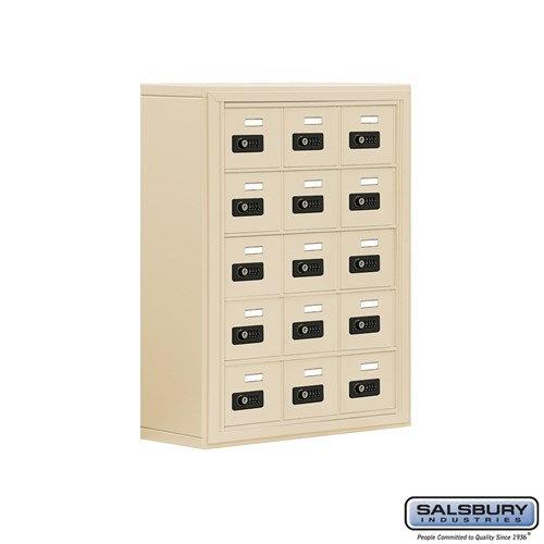 Salsbury Cell Phone Storage Locker - 5 Door High Unit  - 19058-15ASC