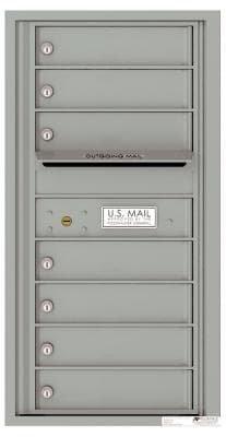versatile 4C09S-07-SM 4CFL Front-loading Mailbox
