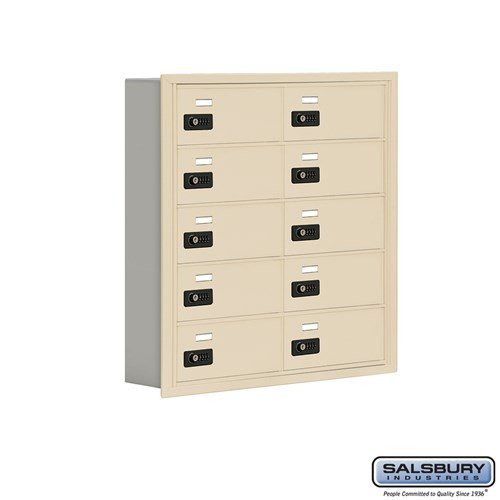 Salsbury Cell Phone Storage Locker - 5 Door High Unit  - 19055-10ARC