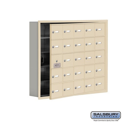Salsbury Cell Phone Storage Locker - with Front Access - 19155-25ARK