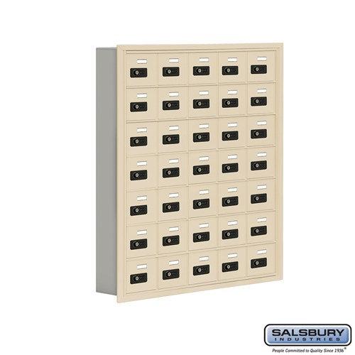 Salsbury Cell Phone Storage Locker - 7 Door High Unit  - 19075-35ARC