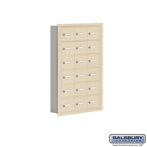 Salsbury Cell Phone Storage Locker - 6 Door High Unit  - 19065-18ARK