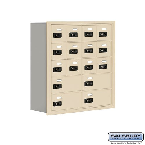 Salsbury Cell Phone Storage Locker - 5 Door High Unit  - 19058-16ARC