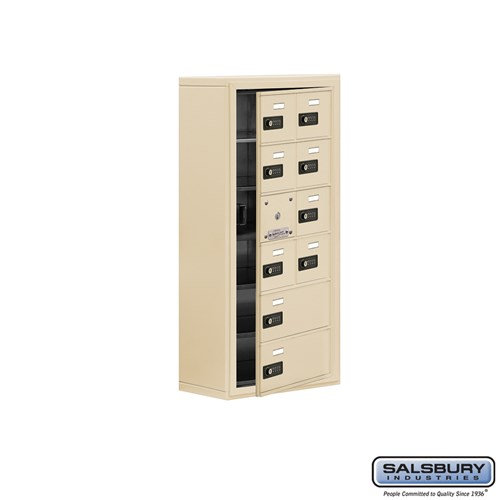 Salsbury Cell Phone Storage Locker - with Front Access - 19168-10ASC
