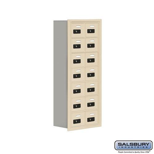 Salsbury Cell Phone Storage Locker - 7 Door High Unit  - 19078-14ARC
