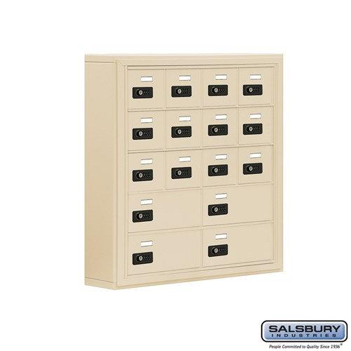 Salsbury Cell Phone Storage Locker - 5 Door High Unit  - 19055-16ASC
