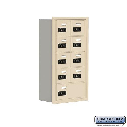 Salsbury Cell Phone Storage Locker - 5 Door High Unit  - 19058-09ARC
