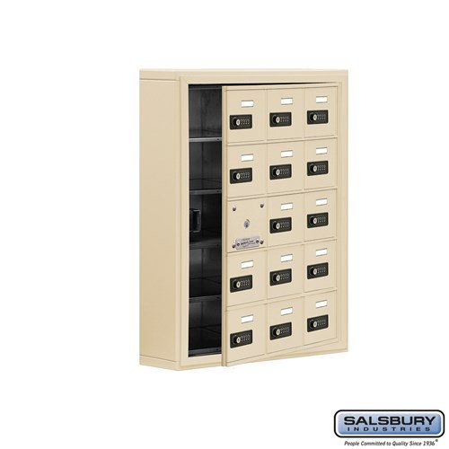 Salsbury Cell Phone Storage Locker - with Front Access - 19155-15ASC